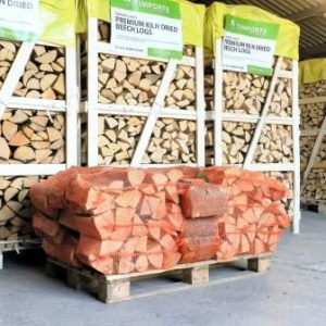 Kiln Dried Logs x 25 Nets