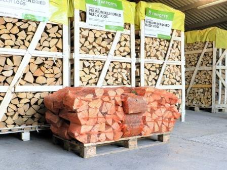 Kiln Dried Logs x 25 Nets
