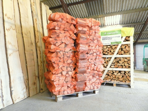 Beech Logs Kiln Dried x 70 Nets